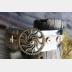 Mixed metal steampunk unisex cuff